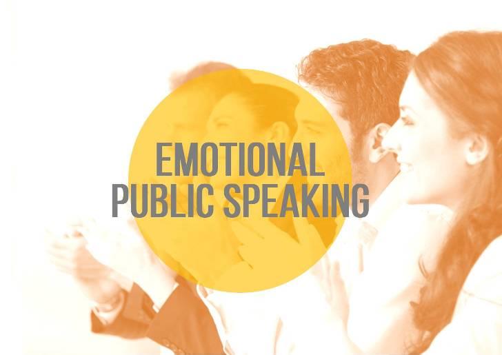Emotional Public Speaking