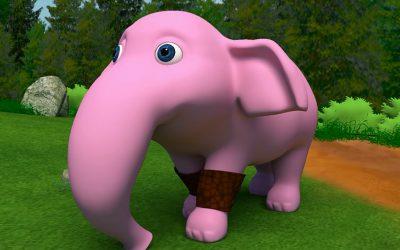 Storia di un elefante viola che non se ne voleva andare via (a proposito di Problem solving)