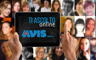 Ti Ascolto: nuovo sportello Counseling online per AVIS Milano